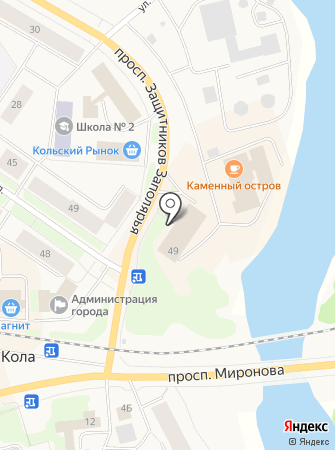 МИАН на карте