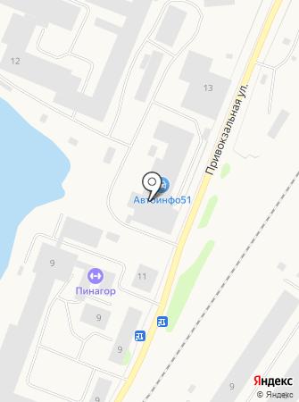 Автоинфо51 на карте