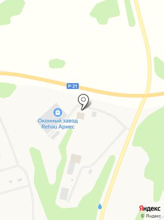 АРИЕС на карте