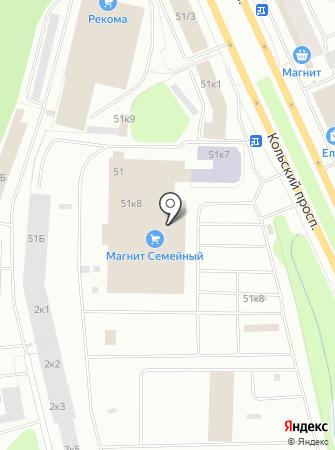 Магазин по продаже товаров из IKEA на карте