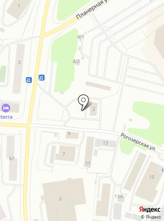 АЗС Статойл-Центр на карте