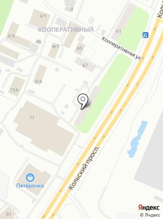 Элегантавто на карте