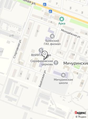 Мичуринская детская школа искусств им. М.В. Шевердина на карте