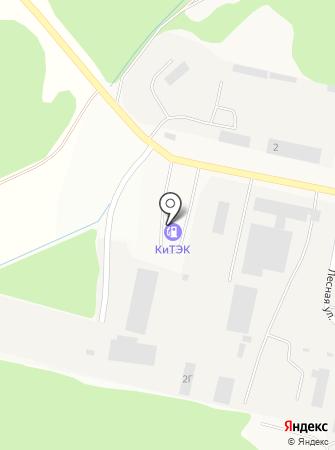АЗС Китэк на карте