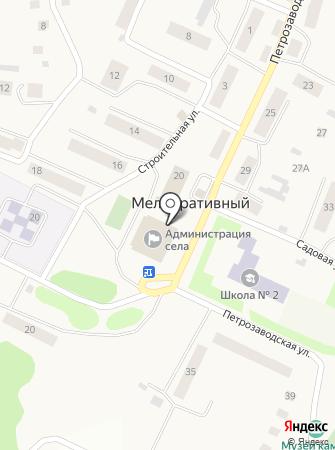 Администрация Мелиоративного сельского поселения на карте