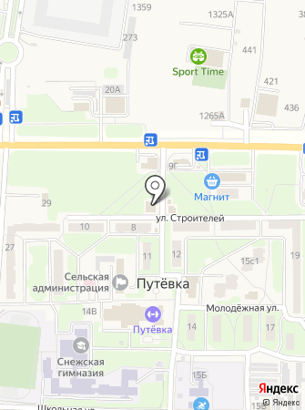 FOX на карте