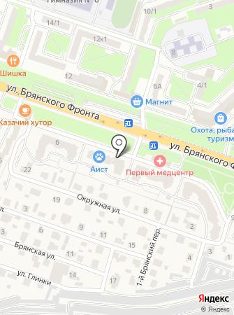 Брянское региональное объединение проектировщиков на карте