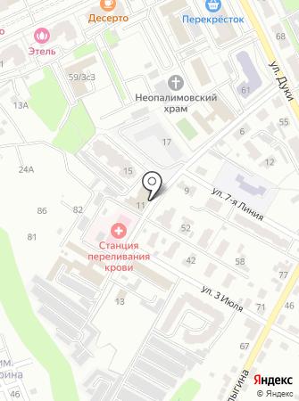 Региональный дистрибьюторский центр на карте