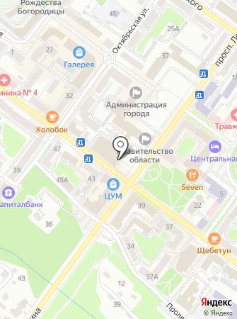 Брянский областной театр драмы им. А.К. Толстого на карте