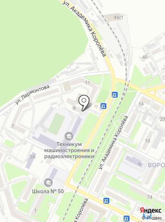 САМГ на карте