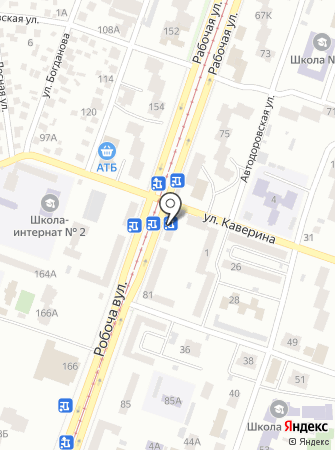 Каверинский на карте