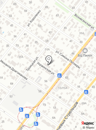 Міська комунальна центральна аварійно-диспетчерська служба на карте