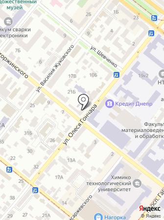 Металл на карте