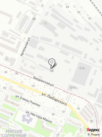 Аварійна служба на карте