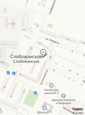 Крамниця на карте