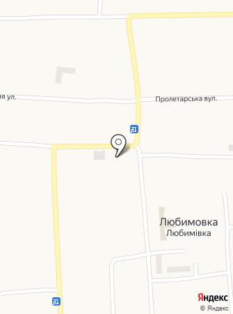 Любимівка на карте