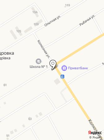 Ласунчик на карте
