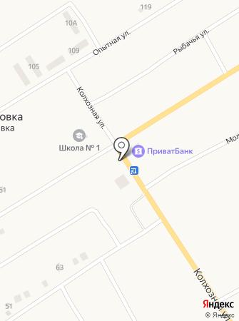 Магрок на карте