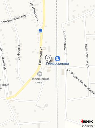 Зоря Дніпропетровська на карте