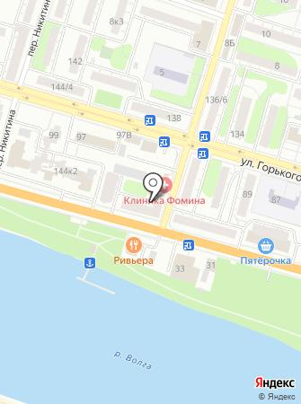 Рубанок на карте
