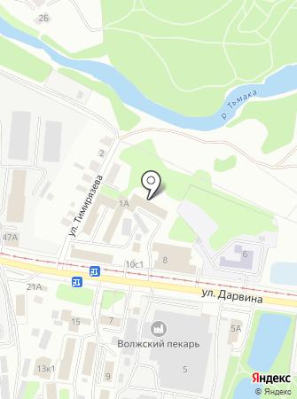 Главное Управление МЧС России по Тверской области на карте
