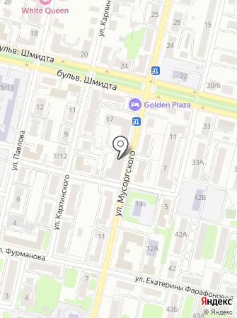 Дезмедхим на карте