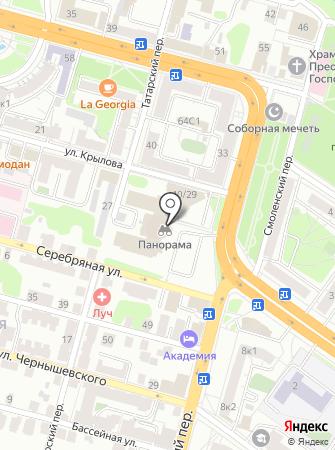 Тверской проспект на карте