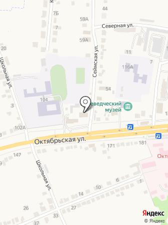 Отдел МВД России Октябрьского района на карте
