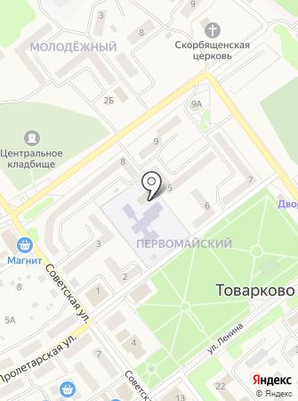 Детский клуб раннего развития на Советской на карте