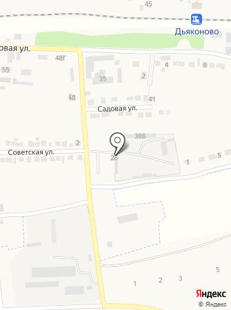 Октябрьское дорожное эксплуатационное предприятие на карте