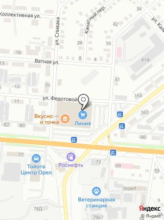 D-COLOR на карте