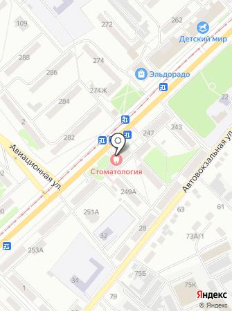 Орловская областная стоматологическая поликлиника на карте