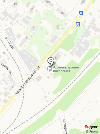 ЗАГС пос. Воротынск на карте