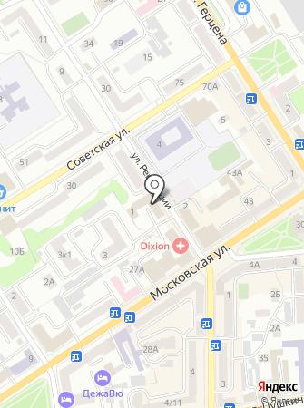 Юридический кабинет на карте