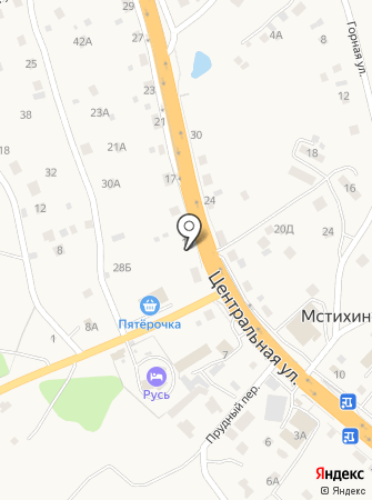 КалугаКаскад на карте
