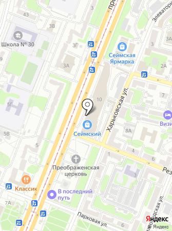 Суши-маркет на карте