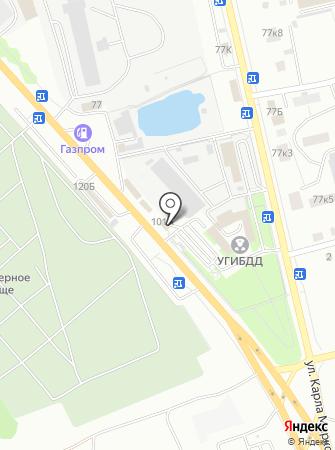 Курскпромбанк на карте