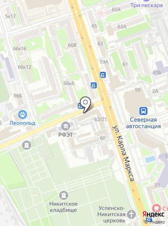 Odissey на карте