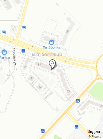 Тефи на карте