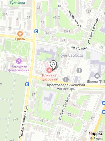 Учебно-методический центр Калужской области на карте