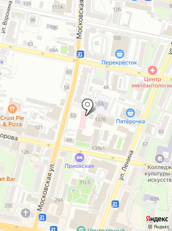 Калуга-Нарколог на карте