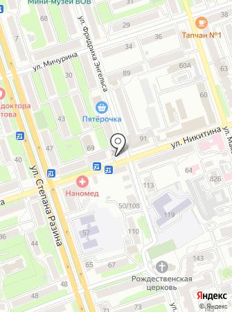 Киоск по продаже горячей выпечки на карте