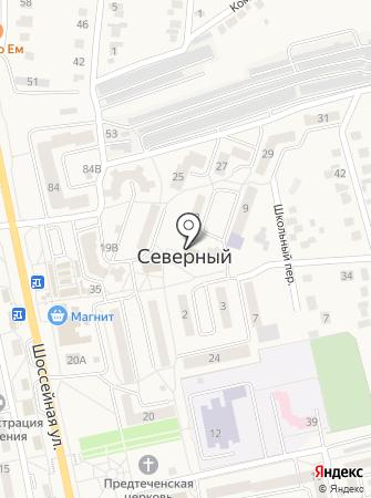 Центральная библиотека Белгородского района на карте