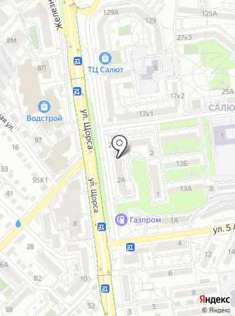 Пиццерия на карте