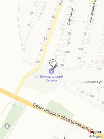 Белгородский Легион на карте