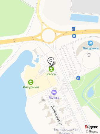 Аквапарк на карте
