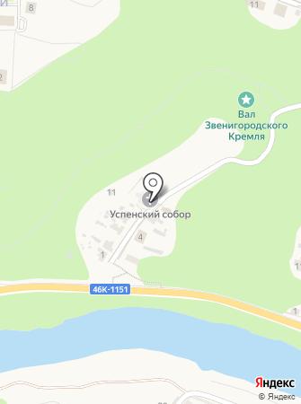 Собор Успения Пресвятой Богородицы на карте