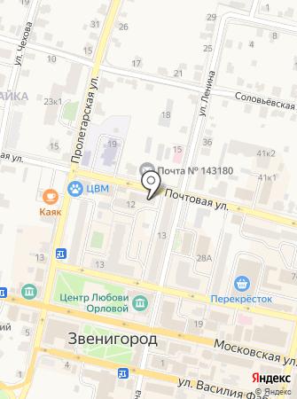 Многофункциональный центр предоставления государственных и муниципальных услуг на карте