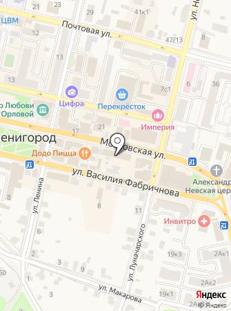 Abecom на карте