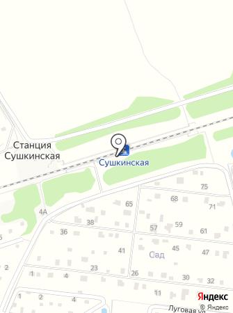 Сушкинская на карте